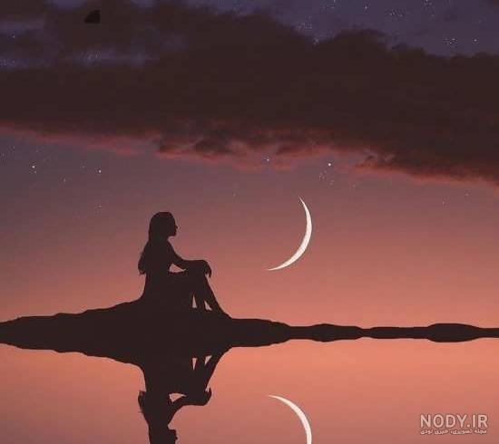 عکس جدایی و تنهایی بدون نوشته