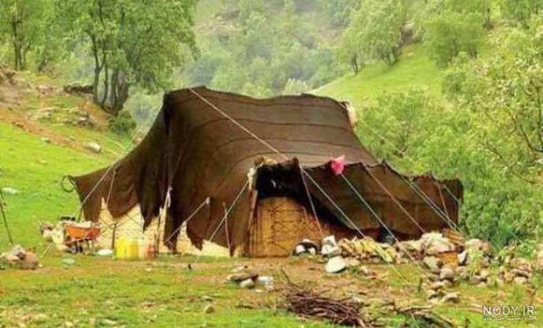 عکس سیاه چادر بختیاری