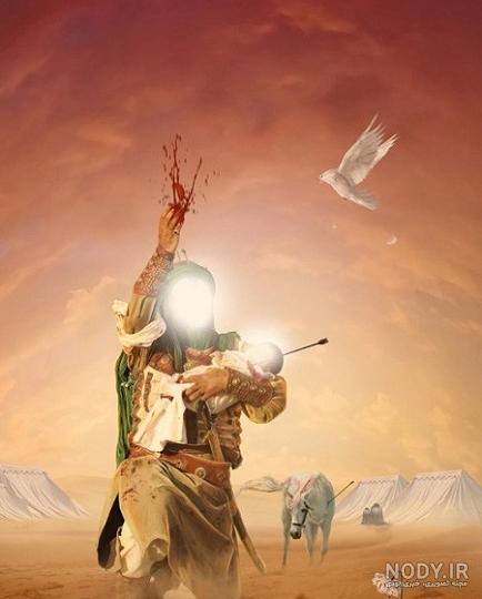 عکس پسر امام حسین علی اصغر
