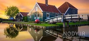 عکس زیبا از طبیعت هلند