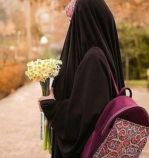 عکس زیبا چادر