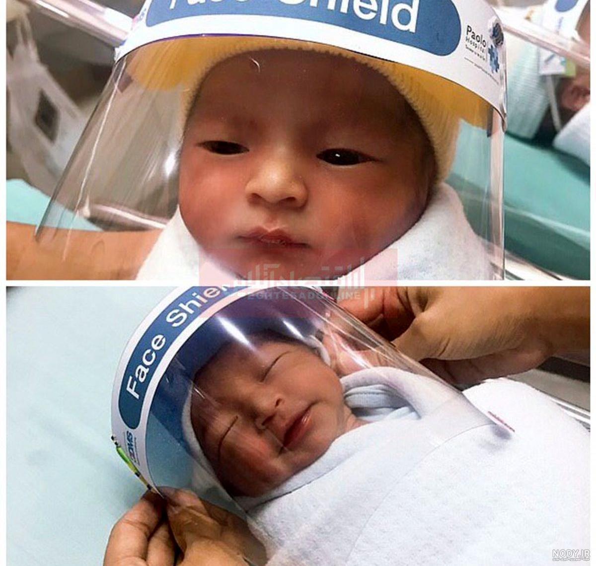 عکس بچه تازه متولد شده