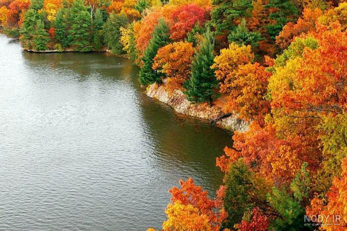 عکس طبیعت زیبای فصل پاییز