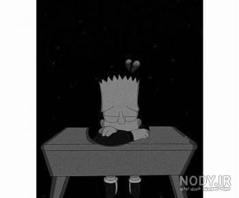 عکس های غمگین انیمیشنی
