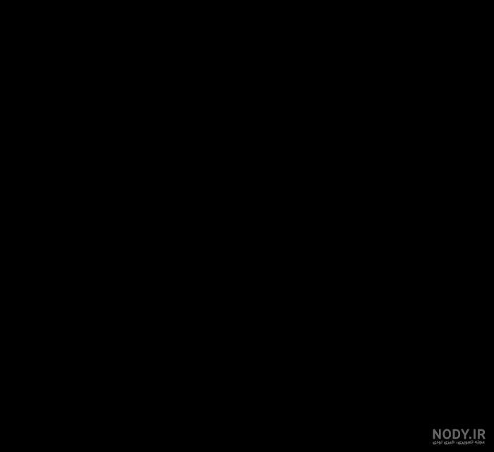 عکس پروفایل یک صفحه سیاه