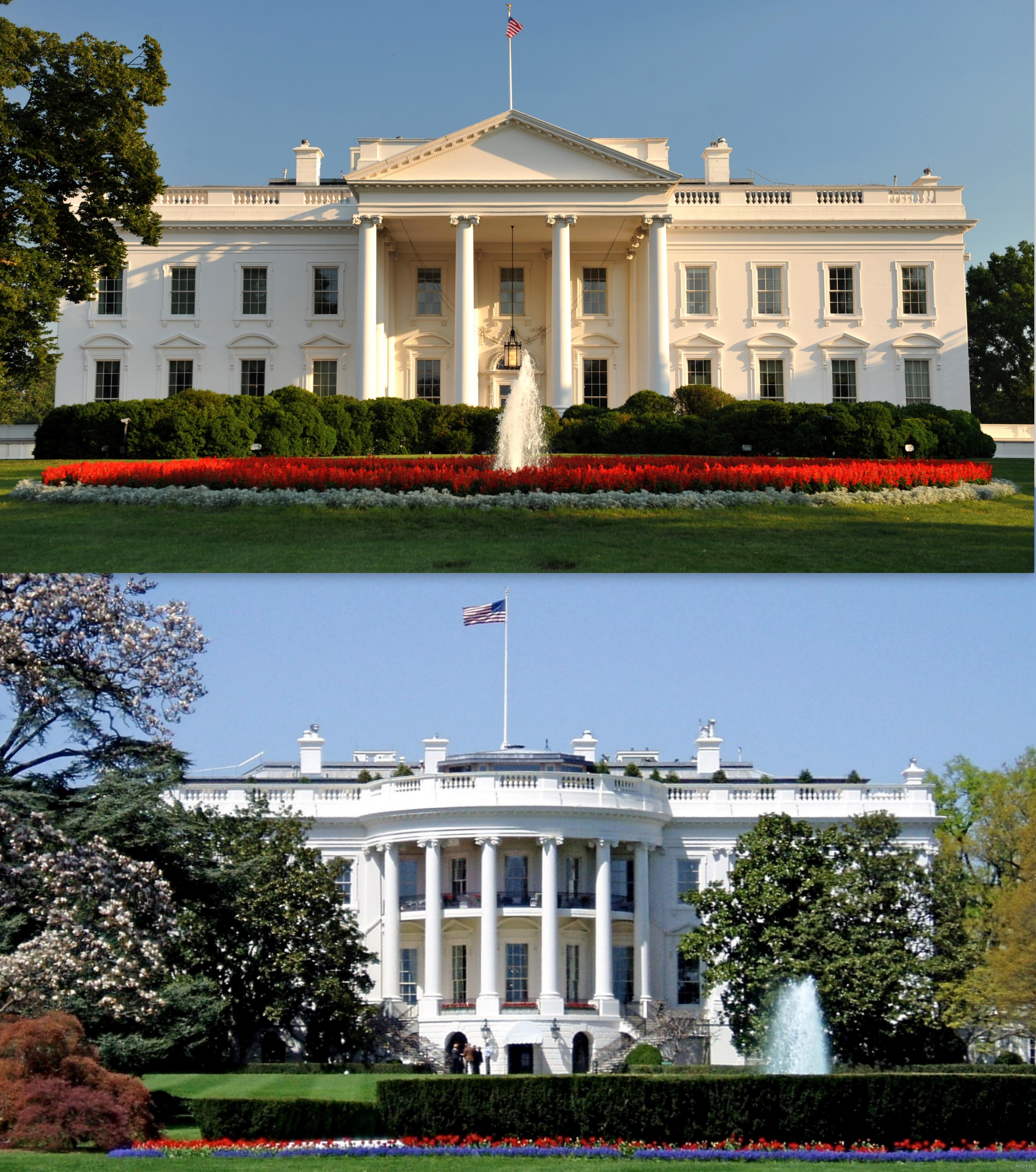 عکس کاخ سفید آمریکا