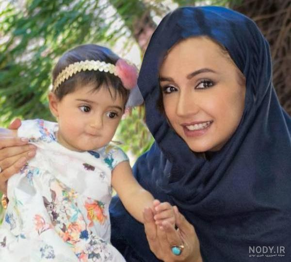 عکس بچه شبنم قلی خانی