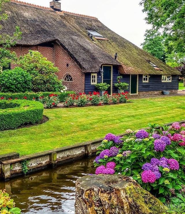 عکس طبیعت زیبا هلند