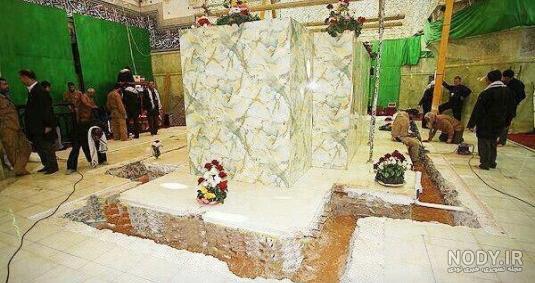 عکس قبر امام حسین بدون ضریح