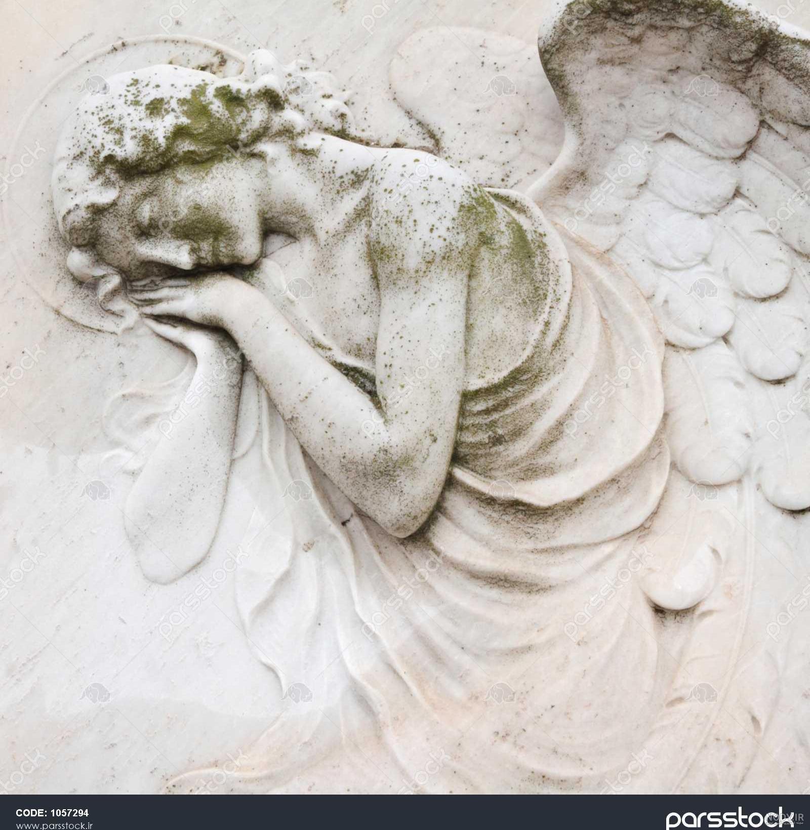 عکس فرشته قبر