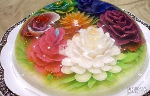 عکس ژله تزریقی گل