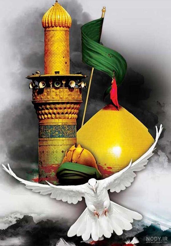 تصویر زمینه حرم امام حسین