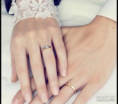 عکس حلقه ازدواج دونفره