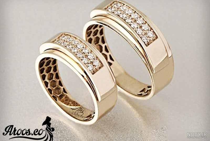 عکس حلقه ازدواج همراه با قیمت