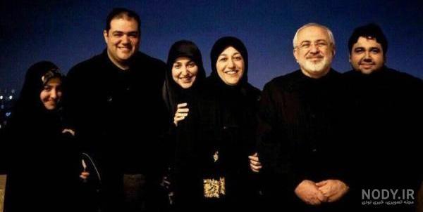 عکس پسر آقای ظریف
