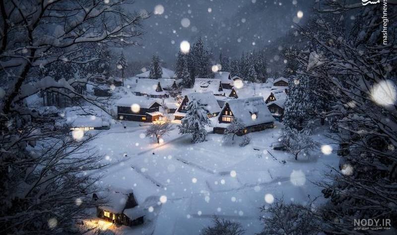 عکس زیبای طبیعت زمستان