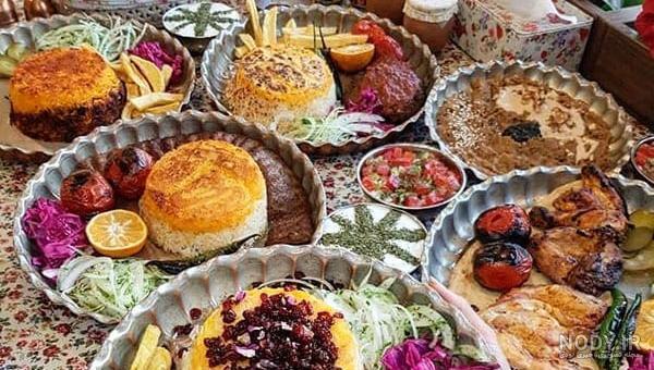 عکس غذاهای ایرانی شیک