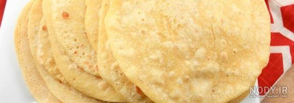 طرز تهیه نان ترتیلا شف طیبه