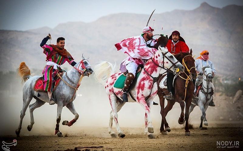 عکس اسب حضرت ابوالفضل
