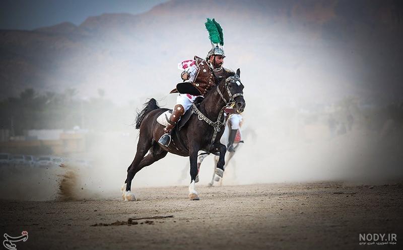 عکس اسب حضرت عباس