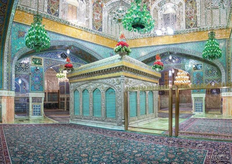 عکس حرم امام رضا جدید