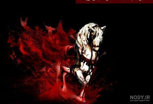 عکس حضرت عباس با اسب