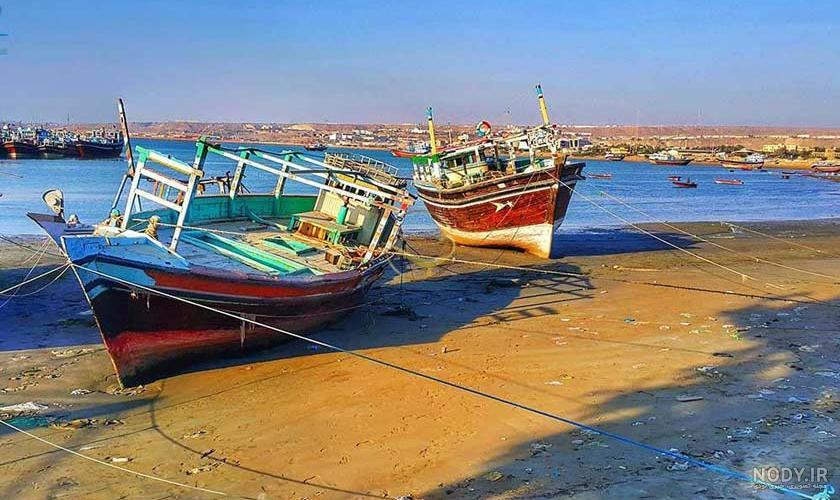 عکس دریا کوچک چابهار
