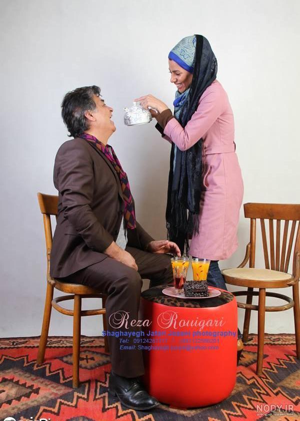 عکس رضا رویگری و همسر اولش
