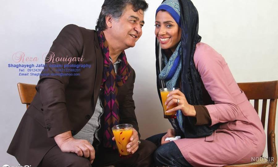 عکس رضا رویگری و همسر جوانش