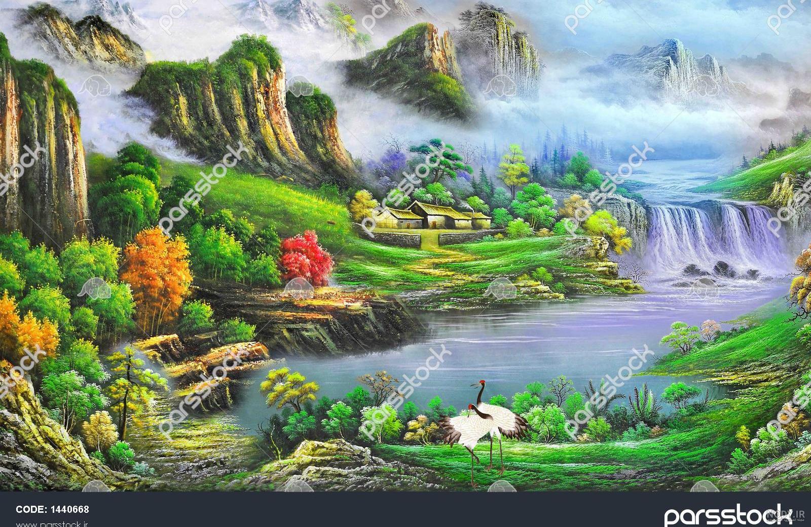 عکس سه بعدی طبیعت