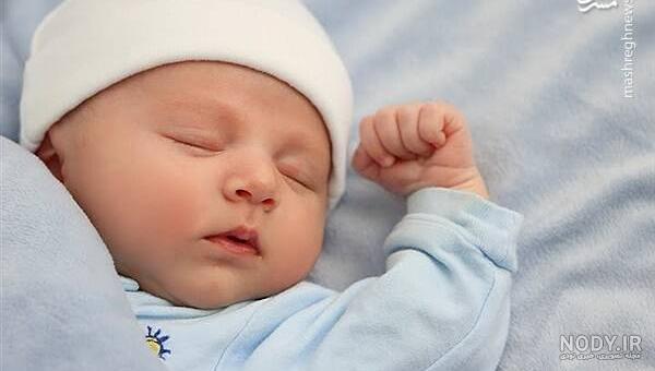 عکس نوزاد یه روزه
