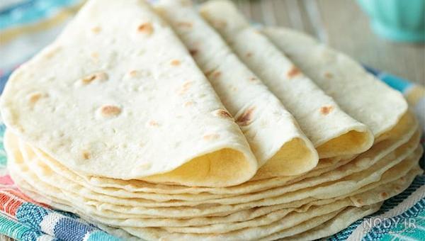 نان ترتیلا سه نان