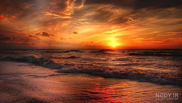 عکس طلوع خورشید با کیفیت