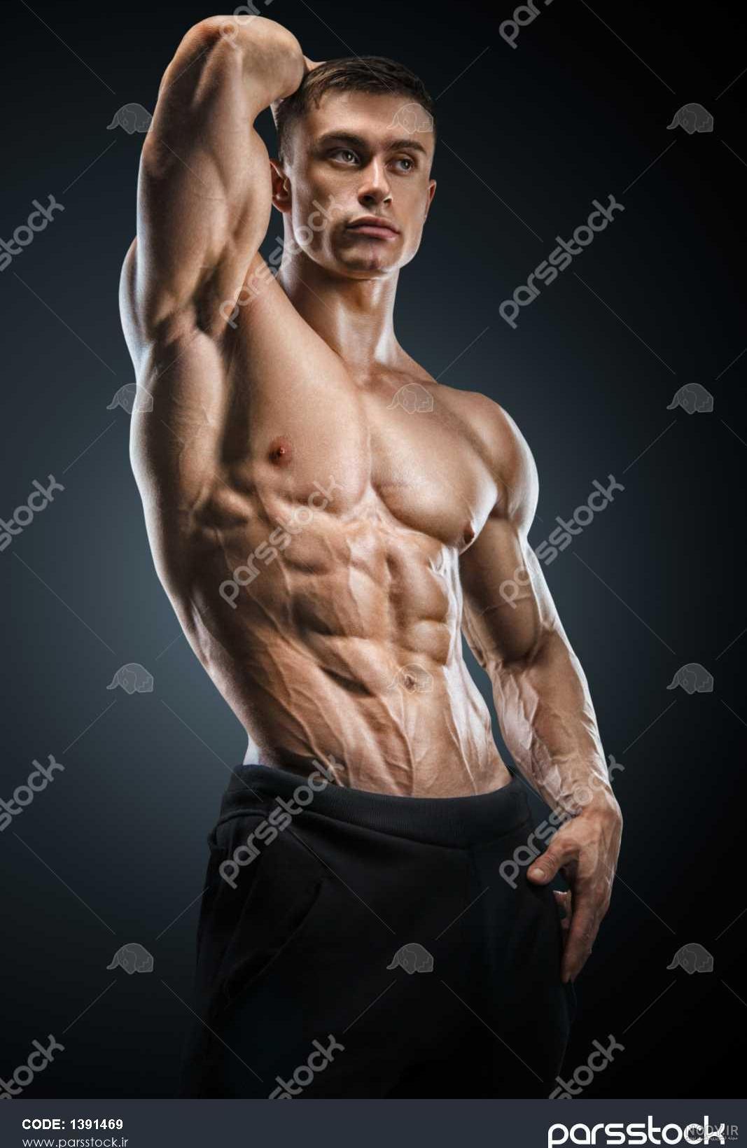 عکس مردان عضله ای
