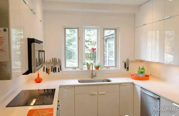 عکس ایده برای پنجره آشپزخانه