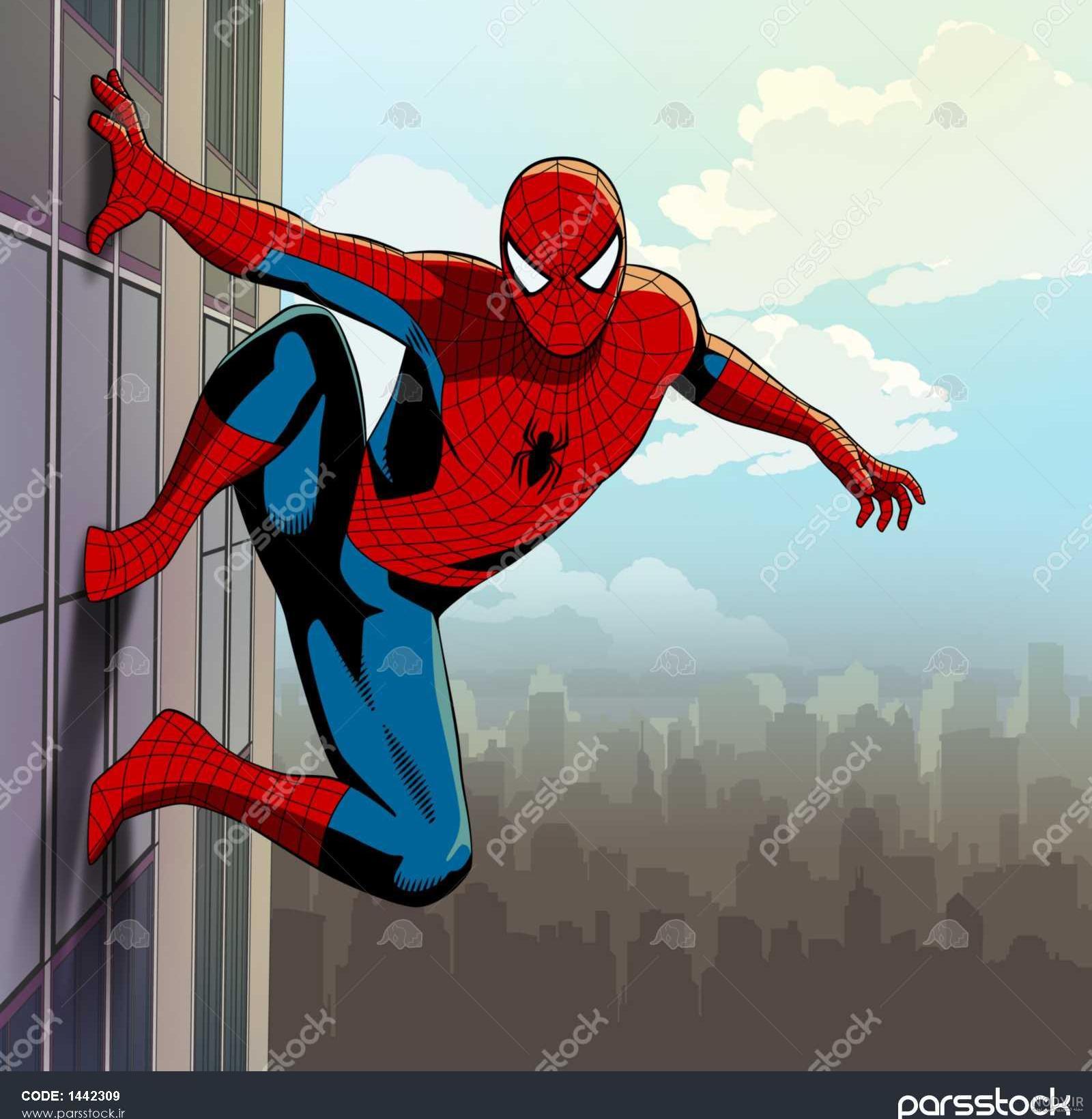 عکس مرد عنکبوتی قرمز