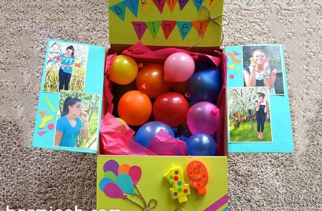 عکس ایده برای سورپرایز تولد خواهر