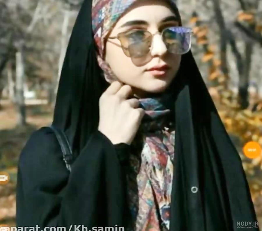 عکس با حجاب نیکا فلاحی
