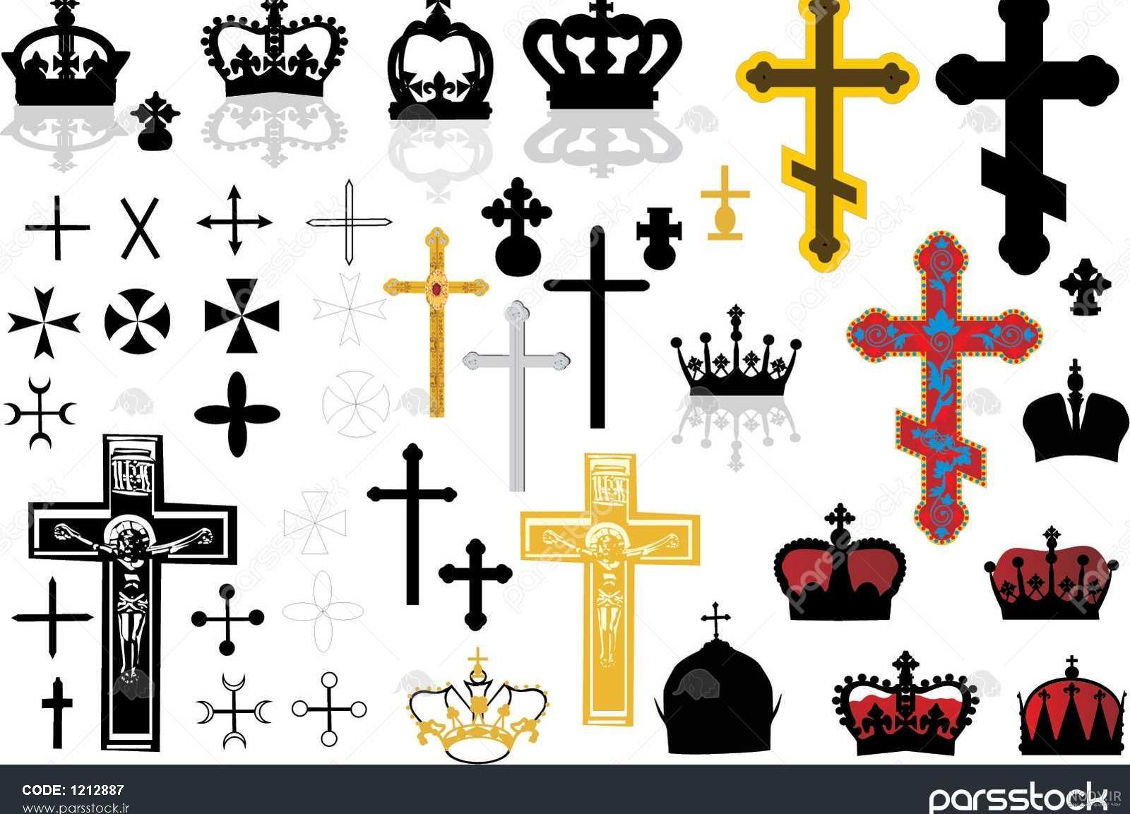 عکس شکل صلیب