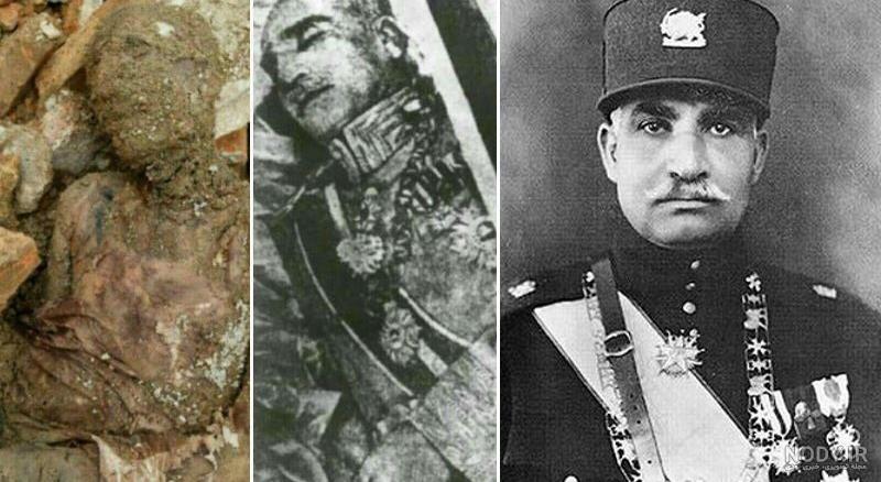 عکس مومیایی رضا شاه که پیدا شده