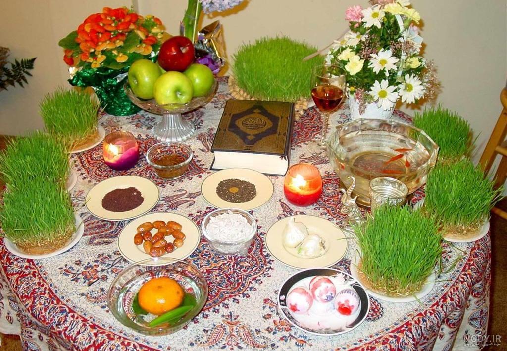 عکس هفت سین و عید