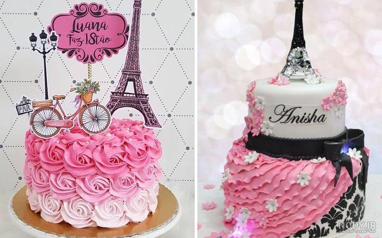عکس کیک تولد غیر عادی
