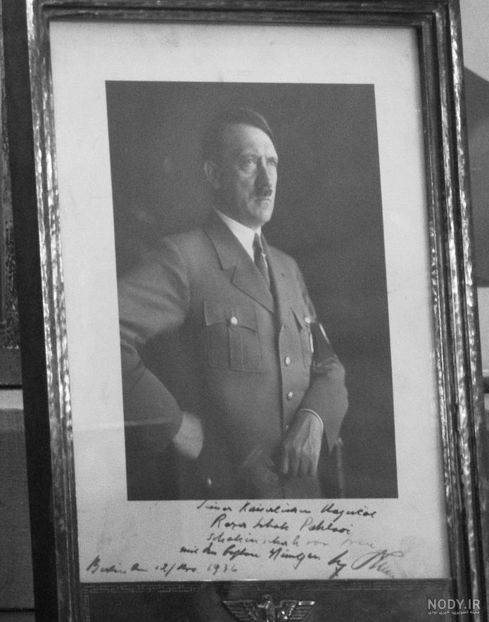 عکس رضا شاه و هیتلر