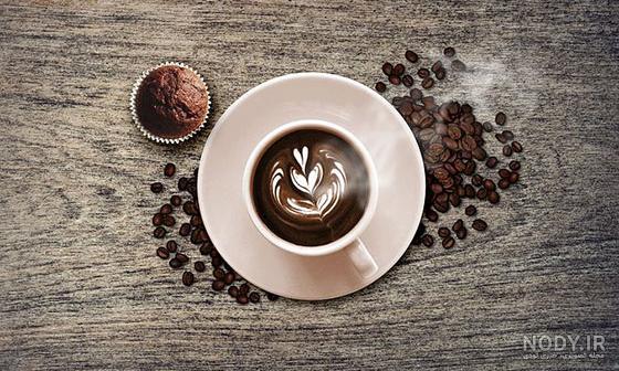 عکس قهوه لاکچری