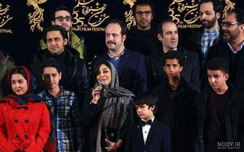 عکس حسین شریفی بازیگر نوجوان