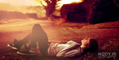 عکس رمانتیک تنهایی