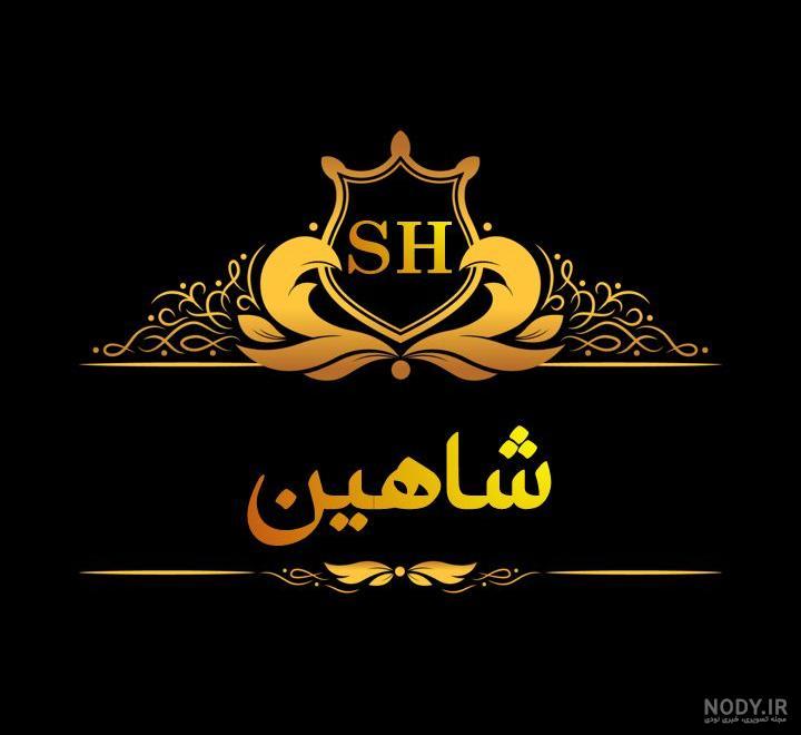 دانلود عکس نوشته ی شاهین