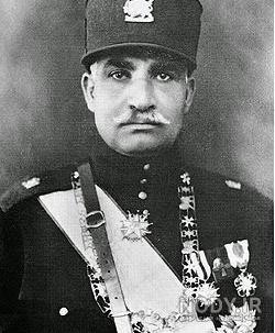 عکس رضا شاه و محمدرضا شاه