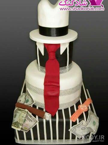 عکس فانتزی مردانه برای کیک