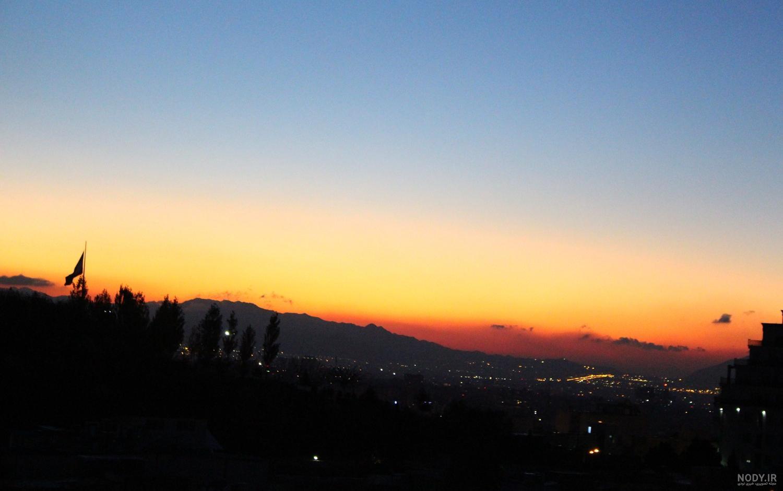 عکس قبل از طلوع خورشید